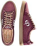 PHINOMEN PHILING Cork Sneaker - Berry - Größe 40